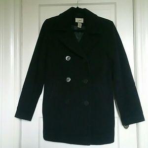 L.L. Bean Insulated Wool Classic Pea Coat Size 6